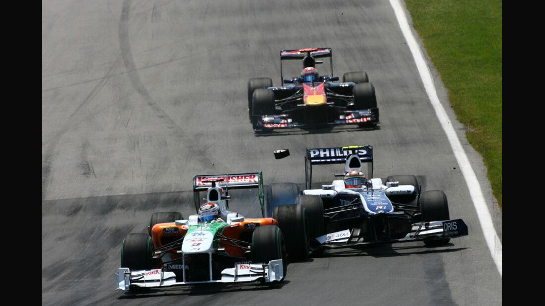 GP Kanada 2010 Sutil Hülkenberg