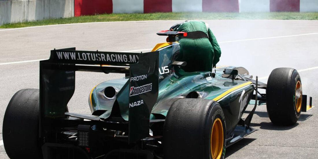 GP Kanada 2010 Trulli Lotus