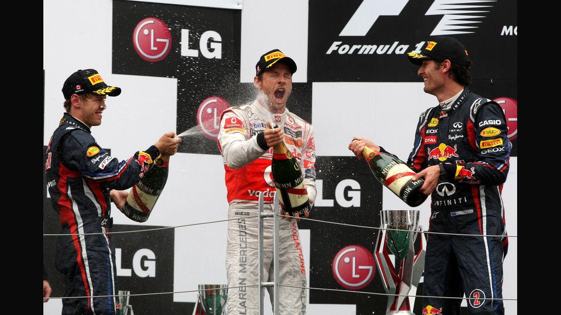 GP Kanada 2011 Podium