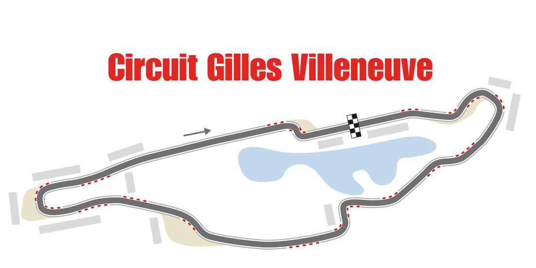 GP Kanada - Rennstrecke - Formel 1
