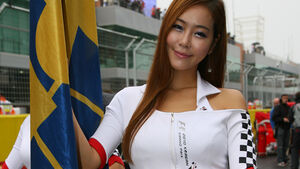 GP Korea 2010 Grid Girls