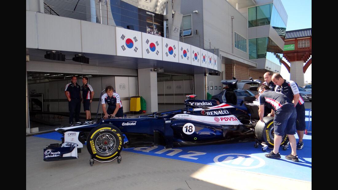 GP Korea 2012 Williams
