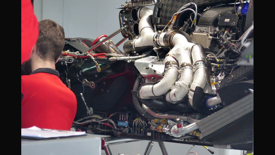 GP Malaysia 2015 - Manor F1 - V6-Turbo - Samstag - 28.3.2015