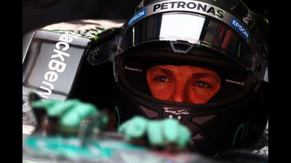 GP Malaysia 2015 - Nico Rosberg - Mercedes - Freitag - 27.3.2015