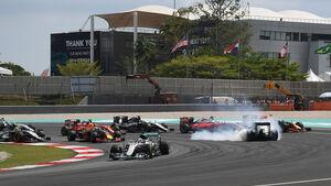 GP Malaysia 2016 - Start - Sepang