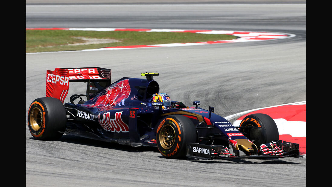 GP Malaysia - Carlos Sainz - Toro Rosso - Formel 1 - Freitag - 27.3.2015
