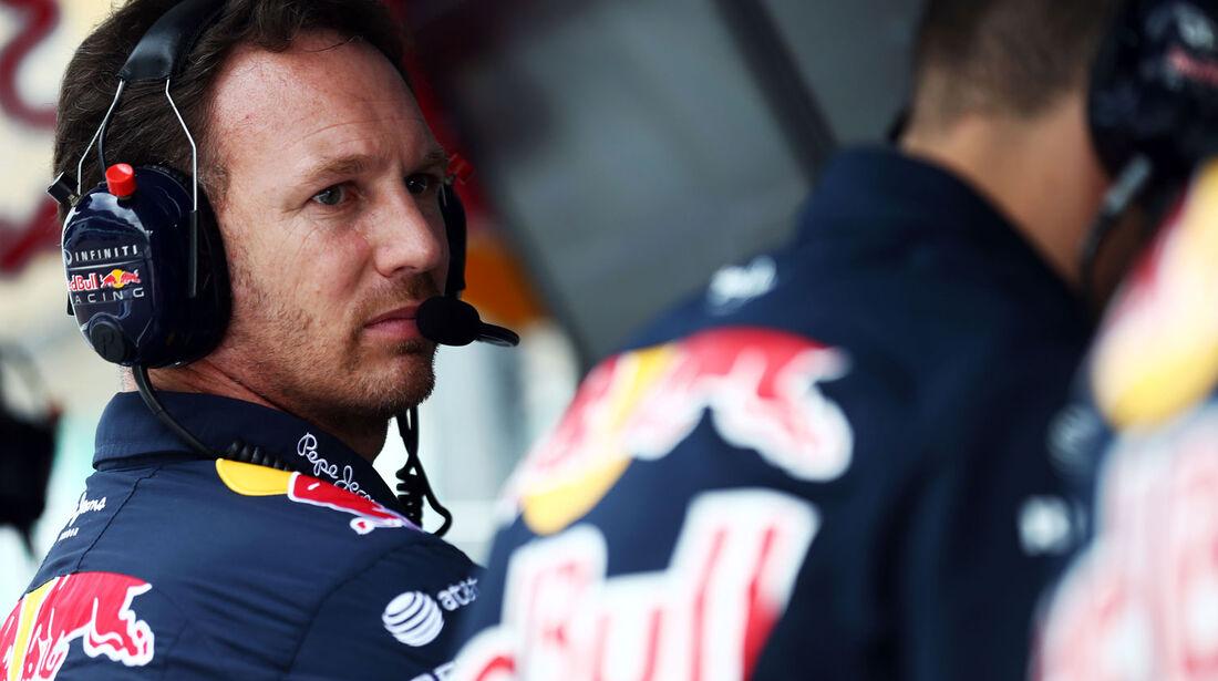 GP Malaysia - Christian Horner - Red Bull - Qualifikation - Samstag - 28.3.2015