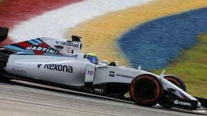GP Malaysia - Felipe Massa - Williams - Qualifikation - Samstag - 28.3.2015
