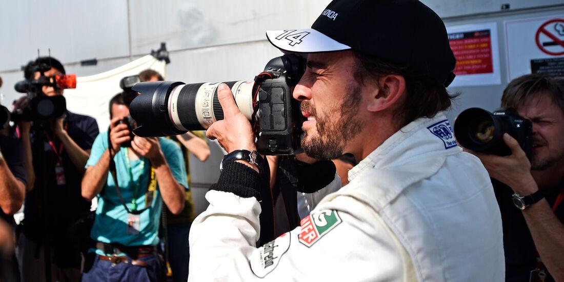 GP Malaysia - Fernando Alonso - McLaren-Honda - Formel 1 - Donnerstag - 26.3.2015