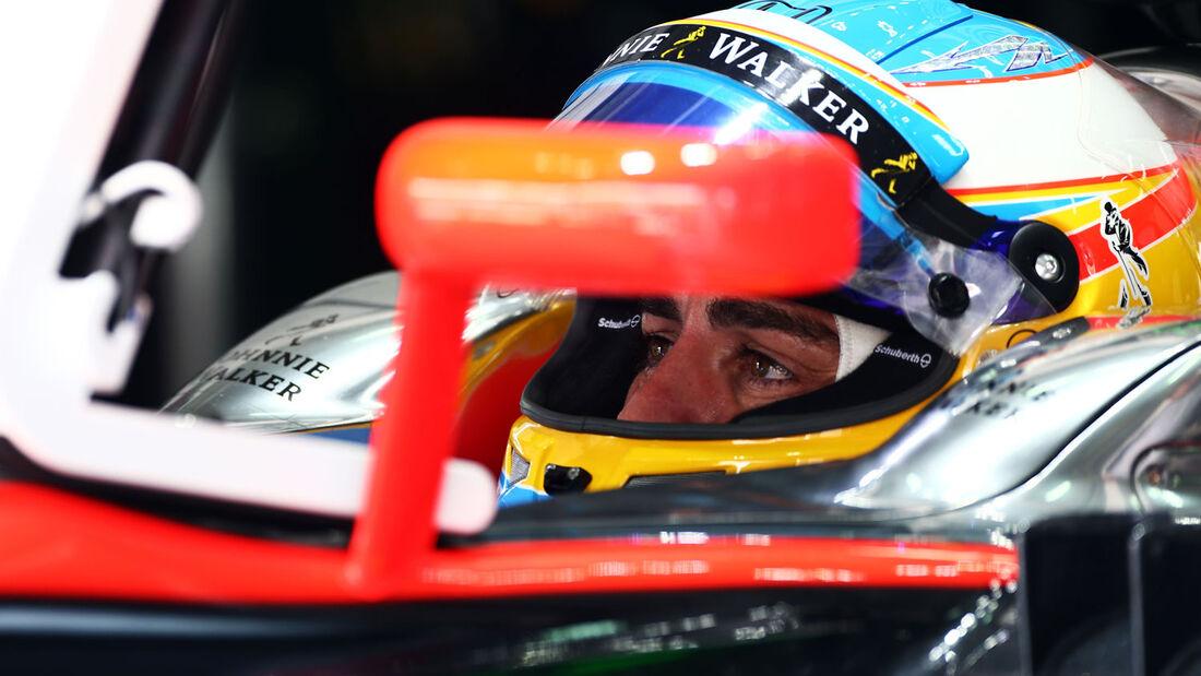 GP Malaysia - Fernando Alonso - McLaren-Honda - Samstag - 28.3.2015