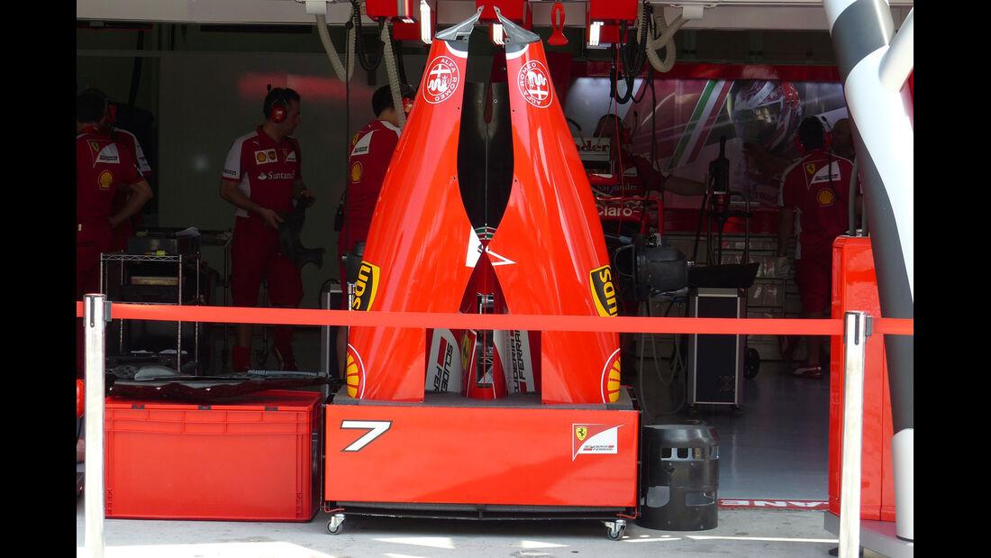 GP Malaysia - Ferrari - Formel 1 - Donnerstag - 26.3.2015
