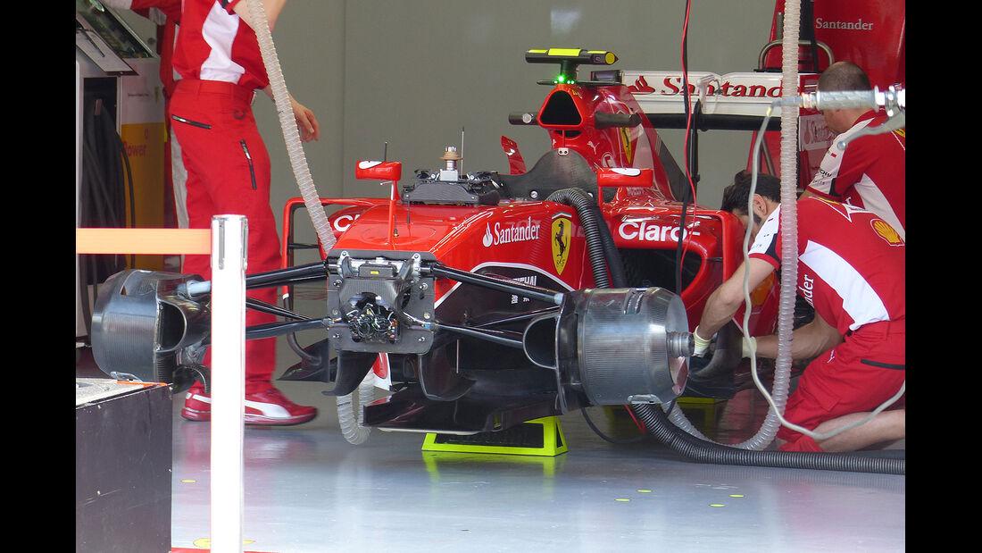 GP Malaysia - Ferrari - Formel 1 - Freitag - 27.3.2015