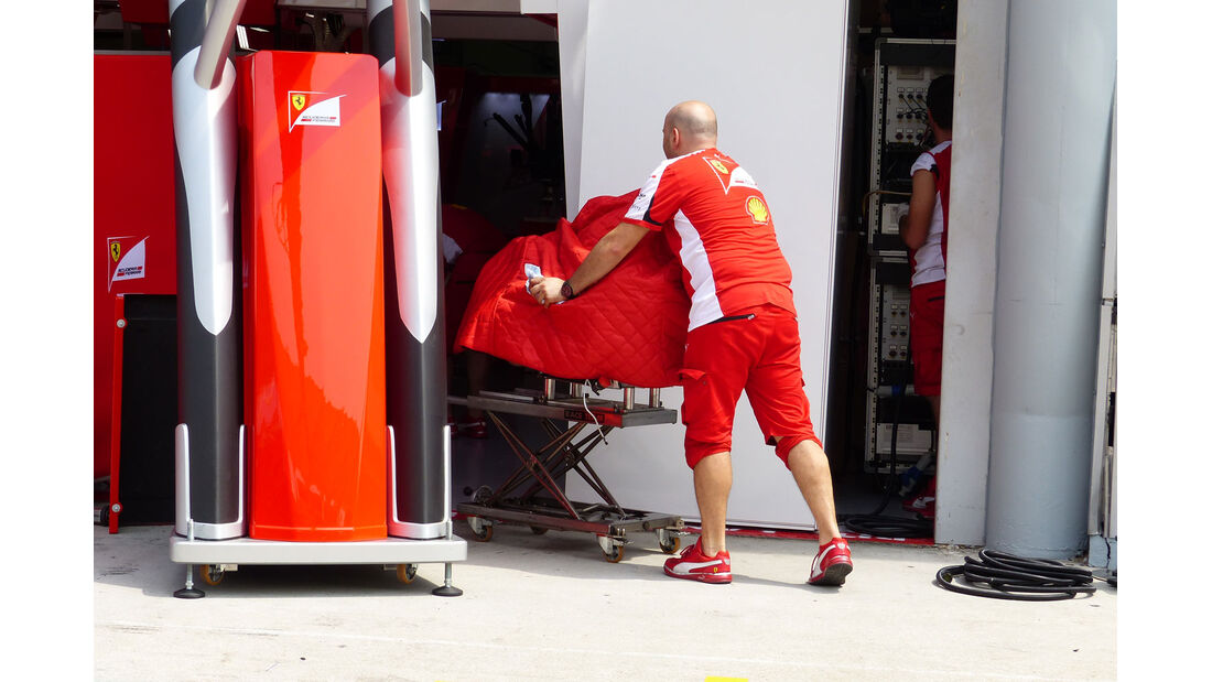 GP Malaysia - Ferrari - Formel 1 - Mittwoch - 25.3.2015