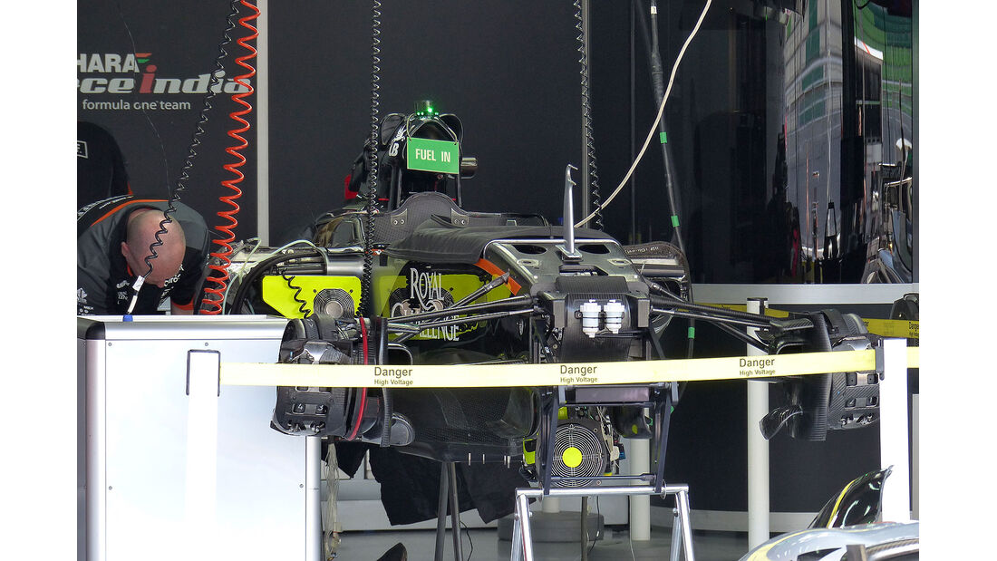 GP Malaysia - Force India - Formel 1 - Donnerstag - 26.3.2015