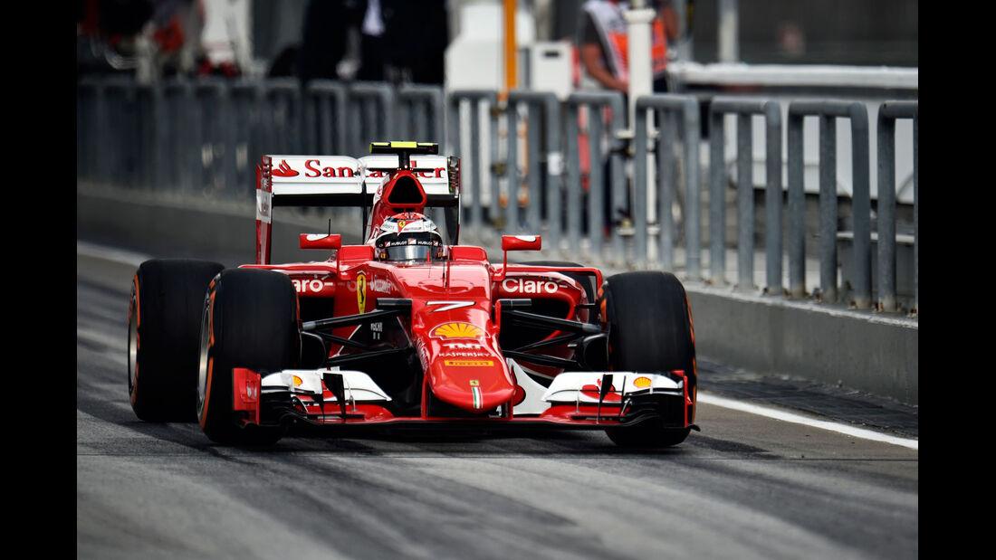 GP Malaysia - Kimi Räikkönen - Ferrari - Qualifikation - Samstag - 28.3.2015