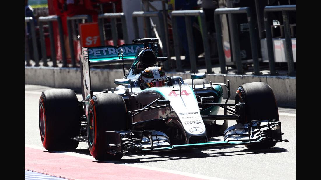GP Malaysia - Lewis Hamilton - Mercedes - Formel 1 - Freitag - 27.3.2015