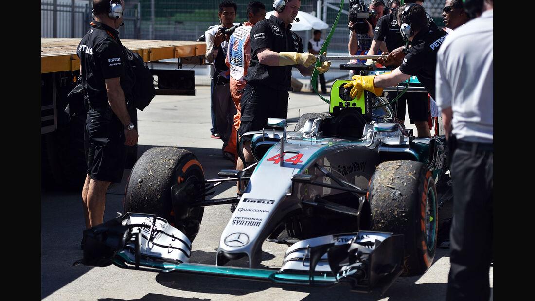 GP Malaysia - Lewis Hamilton - Mercedes - Freitag - 27.3.2015