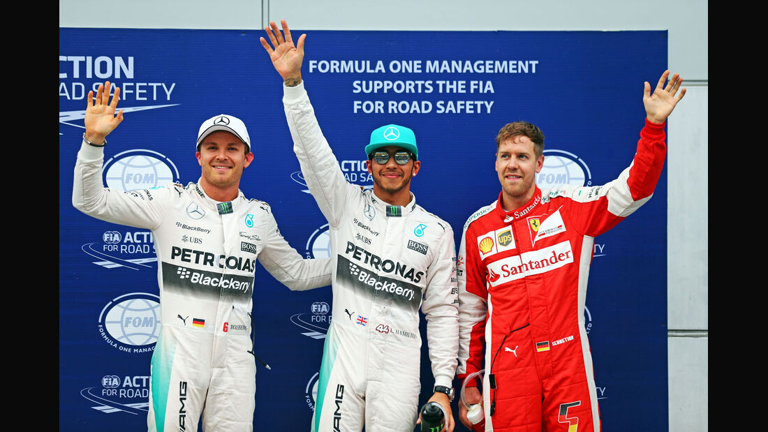 GP Malaysia - Lewis Hamilton - Sebastian Vettel - Nico Rosberg - Qualifikation - Samstag - 28.3.2015