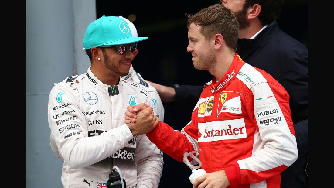 GP Malaysia - Lewis Hamilton - Sebastian Vettel - Qualifikation - Samstag - 28.3.2015