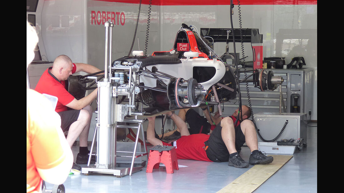 GP Malaysia - Manor F1 - Formel 1 - Donnerstag - 26.3.2015
