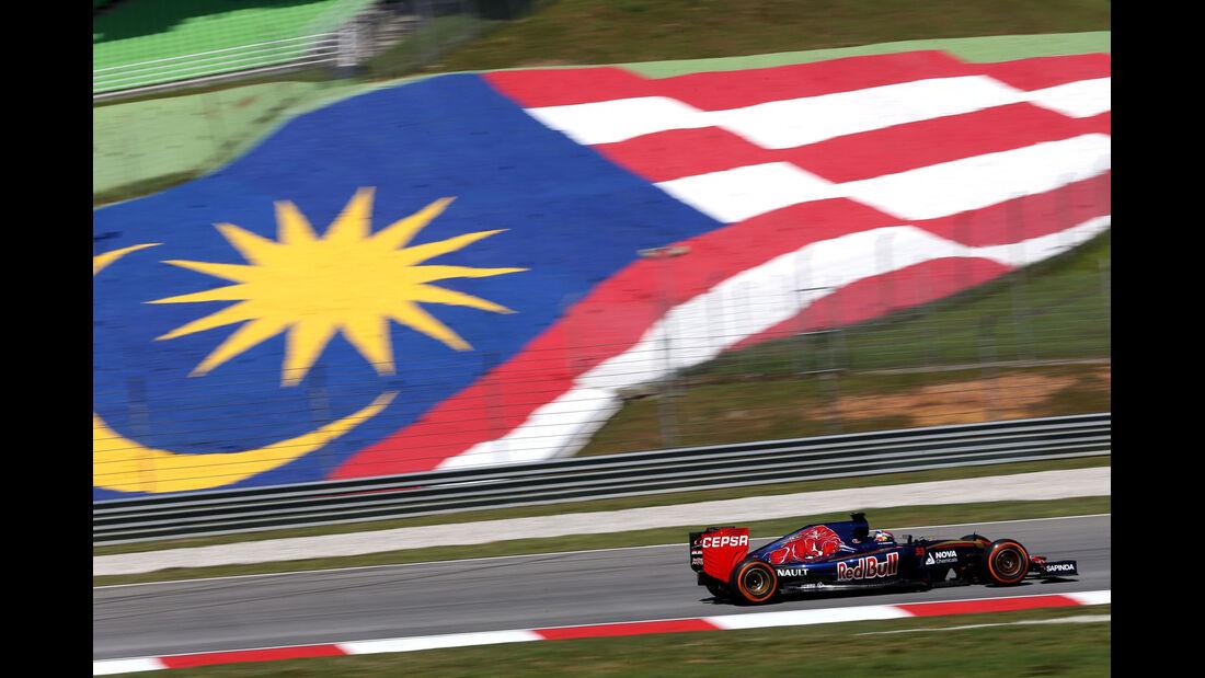 GP Malaysia - Max Verstappen - Toro Rosso - Formel 1 - Freitag - 27.3.2015