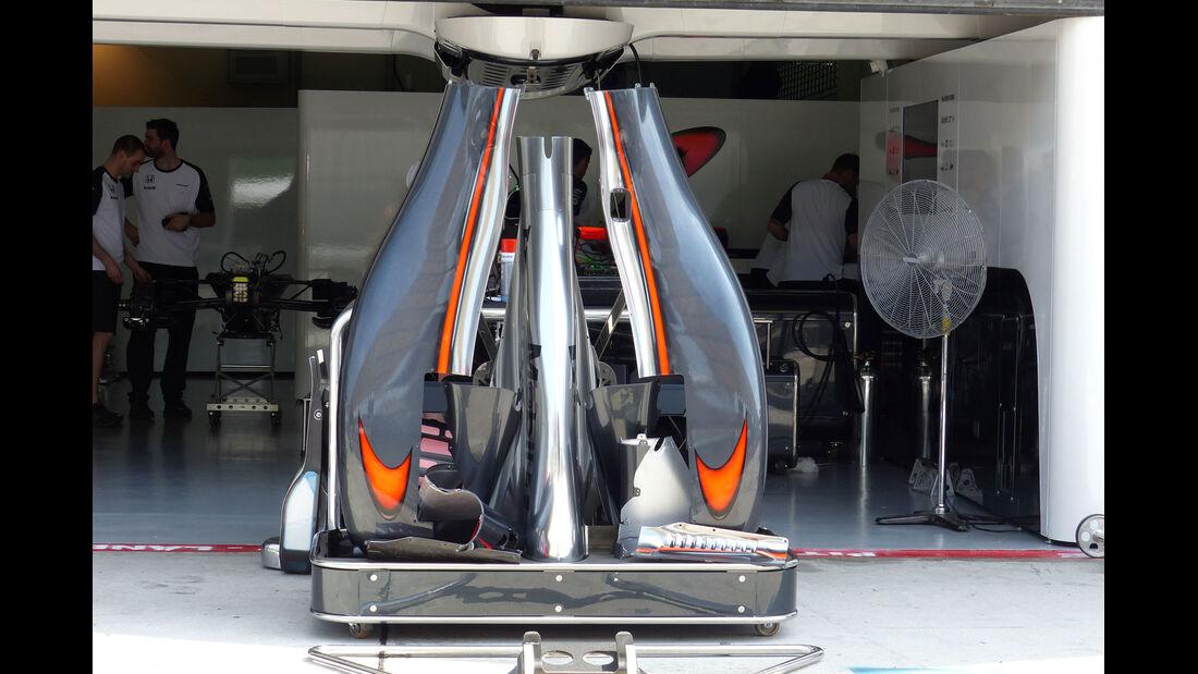 GP Malaysia - McLaren-Honda - Formel 1 - Donnerstag - 26.3.2015