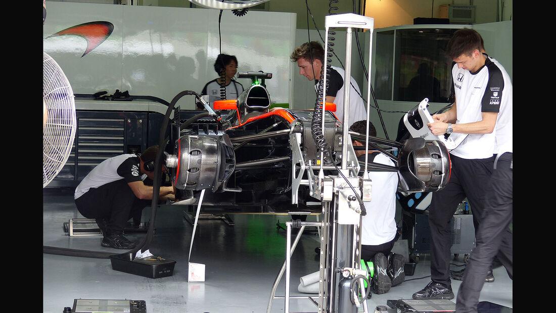 GP Malaysia - McLaren-Honda - Samstag - 28.3.2015