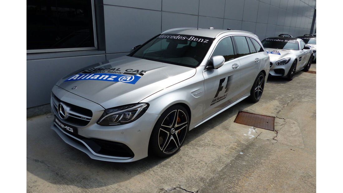 GP Malaysia - Medical Car - Mercedes AMG C63 - Formel 1 - Mittwoch - 25.3.2015