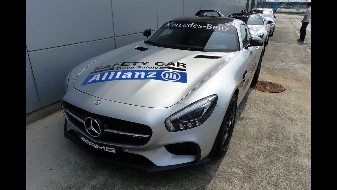 GP Malaysia - Mercedes AMG GT - Formel 1 - Mittwoch - 25.3.2015