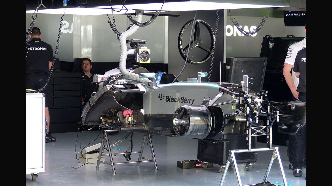GP Malaysia - Mercedes - Formel 1 - Freitag - 27.3.2015
