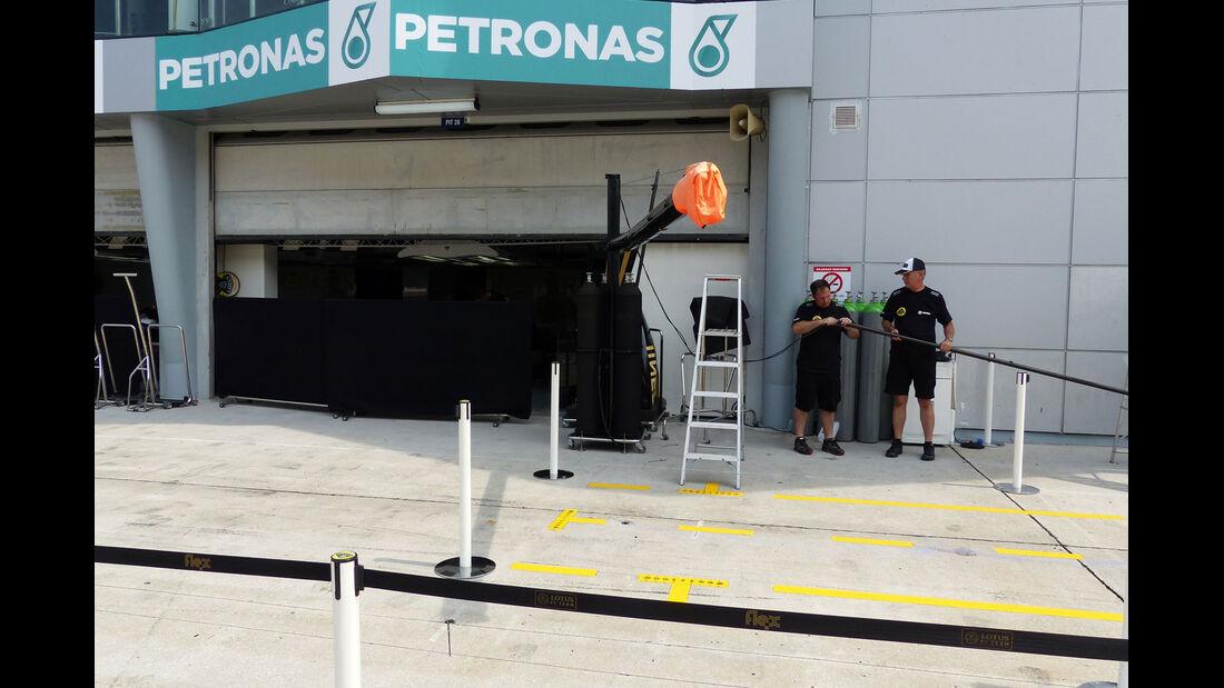 GP Malaysia - Mercedes - Formel 1 - Mittwoch - 25.3.2015