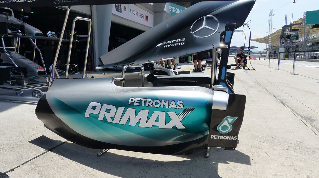 GP Malaysia - Mercedes - Samstag - 28.3.2015