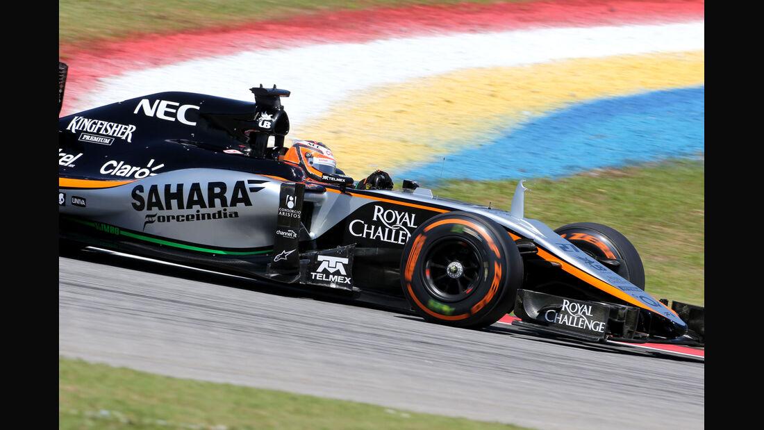 GP Malaysia - Nico Hülkenberg - Force India - Formel 1 - Freitag - 27.3.2015