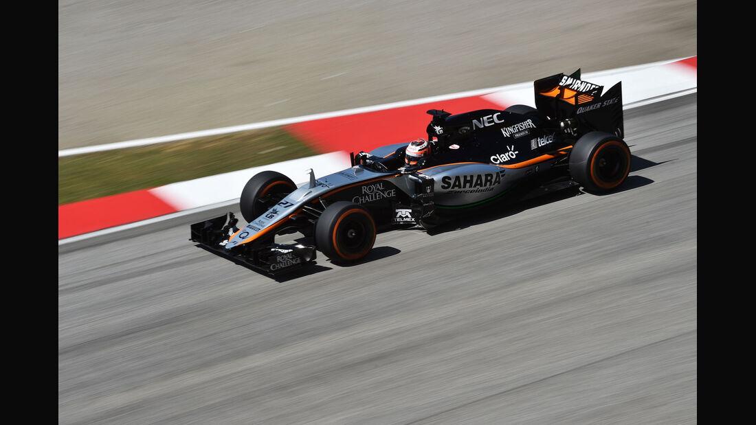 GP Malaysia - Nico Hülkenberg - Force India - Freitag - 27.3.2015