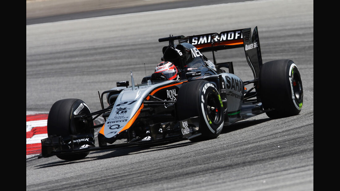 GP Malaysia - Nico Hülkenberg - Force India - Samstag - 28.3.2015