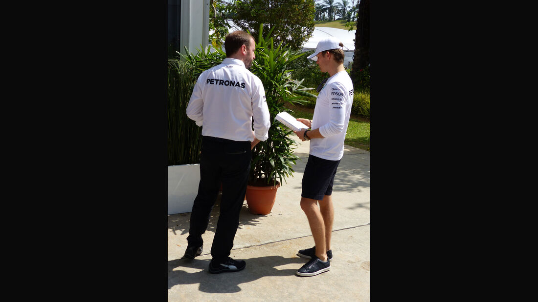 GP Malaysia - Nico Rosberg - Mercedes - Formel 1 - Donnerstag - 26.3.2015