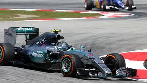 GP Malaysia - Nico Rosberg - Mercedes - Freitag - 27.3.2015