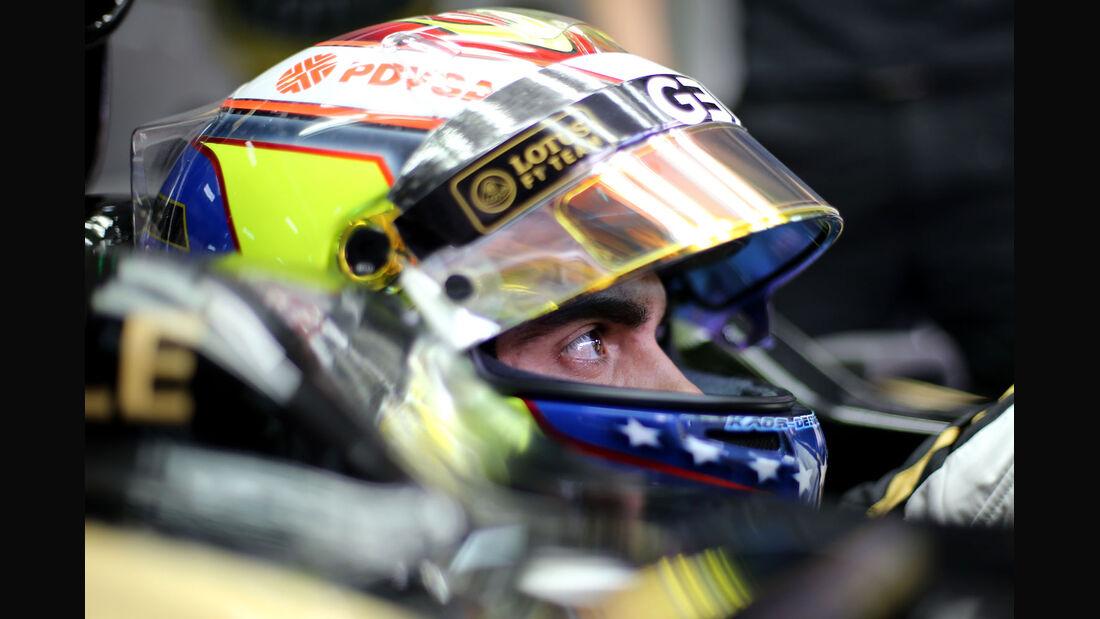 GP Malaysia - Pastor Maldonado - Lotus - Samstag - 28.3.2015