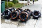 GP Malaysia - Pirelli-Reifen - Samstag - 28.3.2015