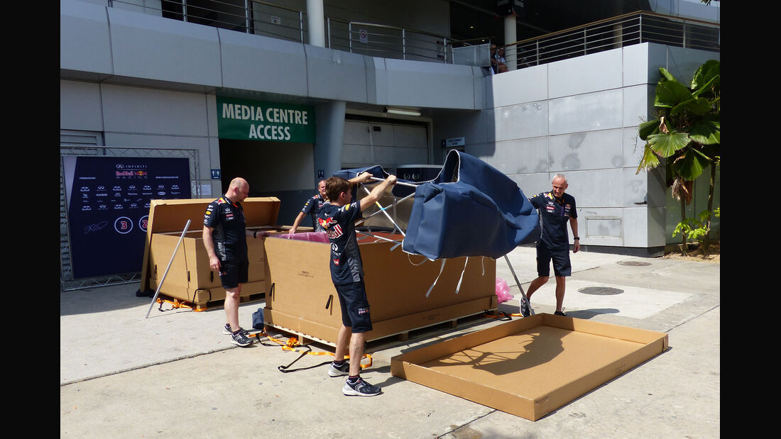 GP Malaysia - Red Bull - Formel 1 - Donnerstag - 26.3.2015