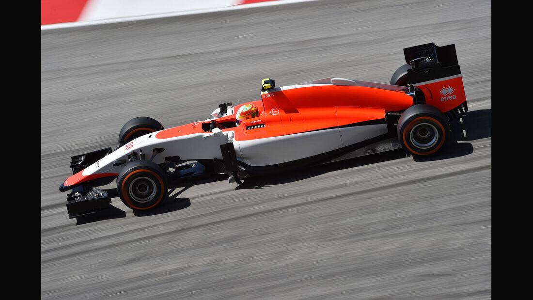GP Malaysia - Roberto Merhi - Manor F1 - Freitag - 27.3.2015