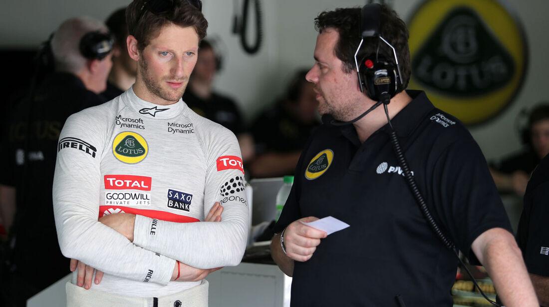 GP Malaysia - Romain Grosjean - Lotus - Samstag - 28.3.2015