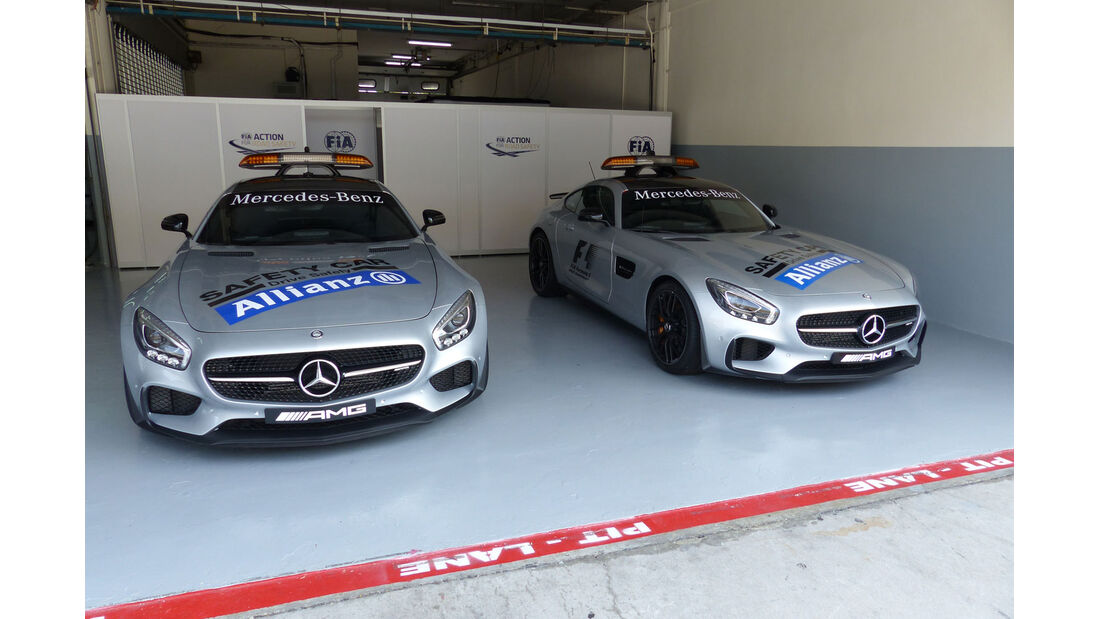 GP Malaysia - Safety Car - Formel 1 - Donnerstag - 26.3.2015