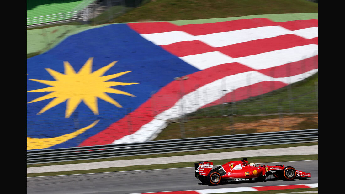 GP Malaysia - Sebastian Vettel - Ferrari - Formel 1 - Freitag - 27.3.2015