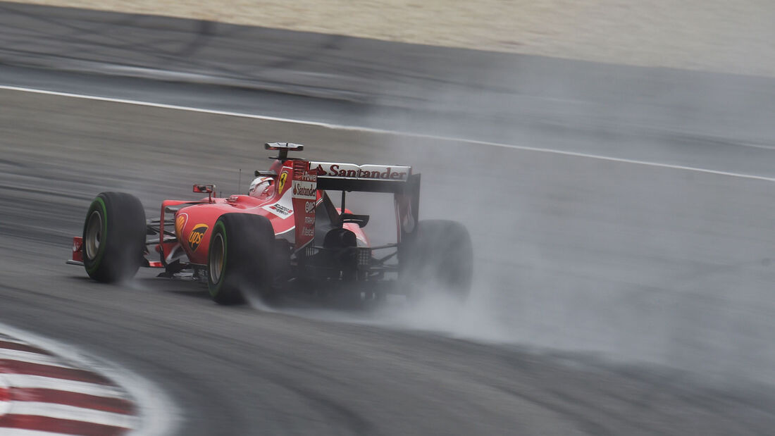 GP Malaysia - Sebastian Vettel - Ferrari - Qualifikation - Samstag - 28.3.2015