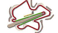 GP Malaysia Sepang Strecke DRS Zone 2013