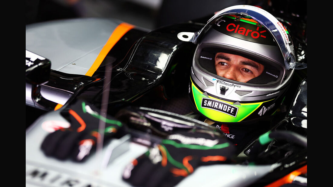 GP Malaysia - Sergio Perez - Force India - Samstag - 28.3.2015