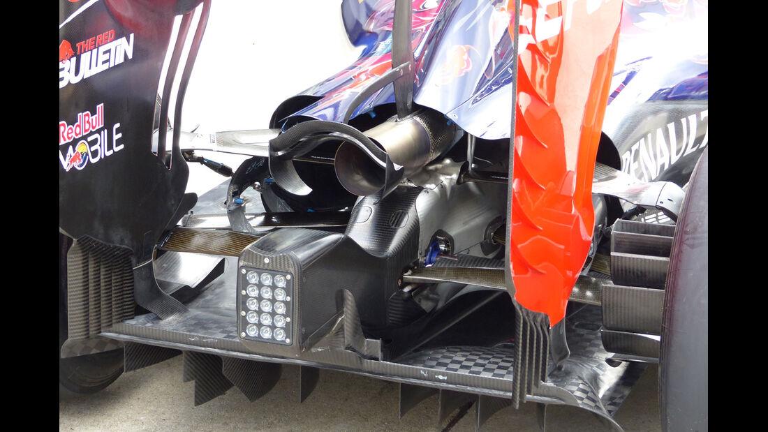 GP Malaysia - Toro Rosso - Formel 1 - Donnerstag - 26.3.2015