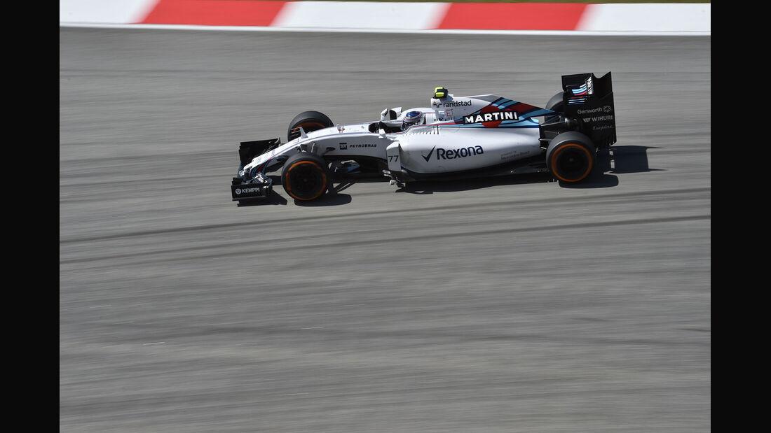 GP Malaysia - Valtteri Bottas - Williams - Freitag - 27.3.2015
