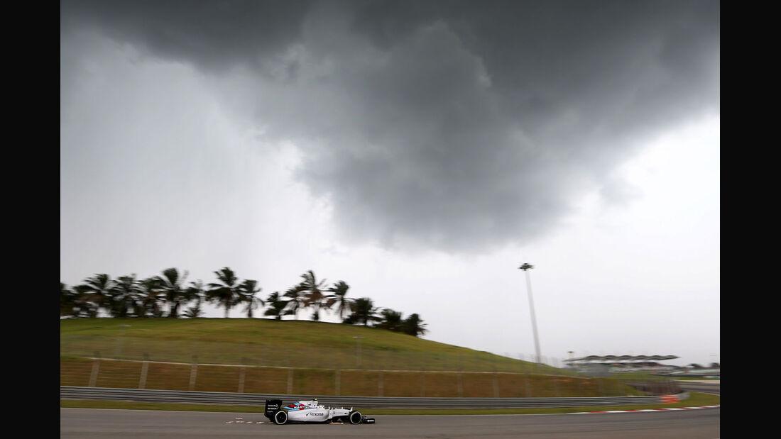 GP Malaysia - Valtteri Bottas - Williams - Qualifikation - Samstag - 28.3.2015